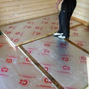 Самостоятельная теплоизоляция пола из бетона