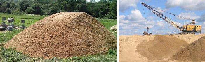 Сколько весит песок