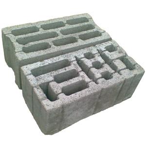 Сколько весит шлакобетонный блок