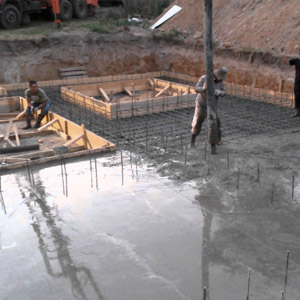 Сколько стоит заливка бетона, обустройство армирования и опалубки
