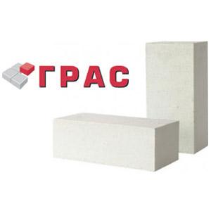 Стоимость блоков марки Грас разных размеров