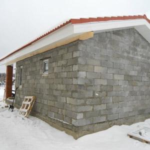 Стоимость строительства бани из пеноблока под ключ