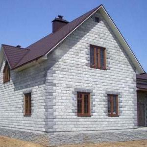 Стоимость строительства дома из пенобетона с отделкой под ключ