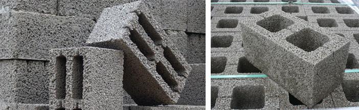 Строительный камень на основе керамзита
