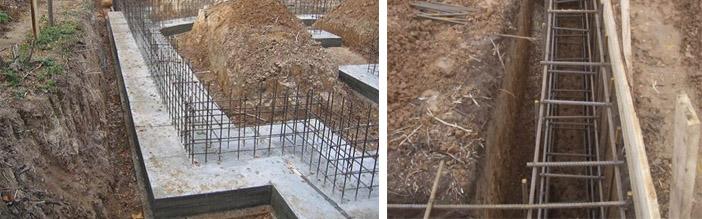Строительство основы для дома
