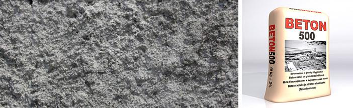Сухая бетонная смесь