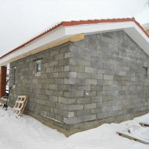 Фото популярных проектов бань из пенобетонных блоков