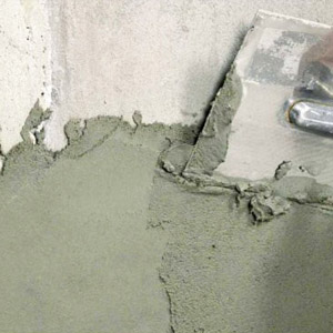 Цементная смесь для оштукатуривания стен - пропорции