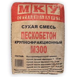 Цементно-песчаная смесь марки М300