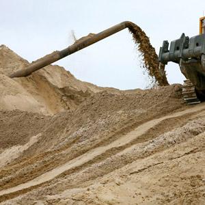 Что такое мытый или намывной песок