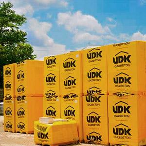 Газобетонные блоки марки UDK