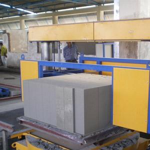 Изготовление строительных блоков из газосиликата