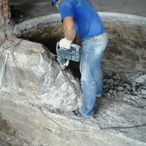 Как демонтируется старый фундамент