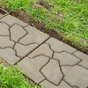 Как сделать опалубку для дорожки в саду
