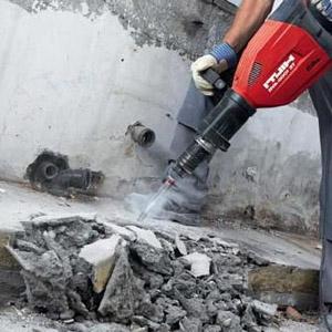 Способы демонтажа бетонных сооружений