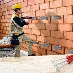 Анкерные системы для стен из кирпича