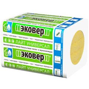 Базальтовая теплоизоляци марки Эковер