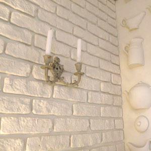 Декоративная плитка из гипса под кирпич