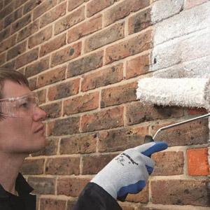 Как подобрать краску для кирпичных стен
