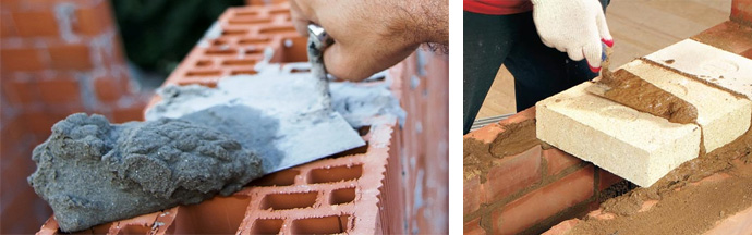 Цементный раствор для кладки кирпича пропорции