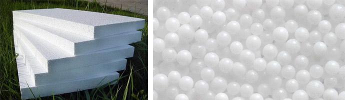Особенности пенопластовых плит