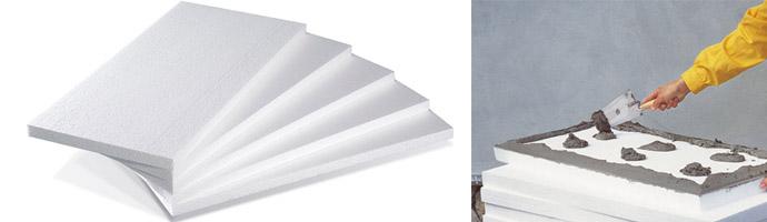 Пенопластовые плиты 50 мм
