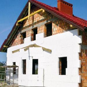 Пенопласт для фасада