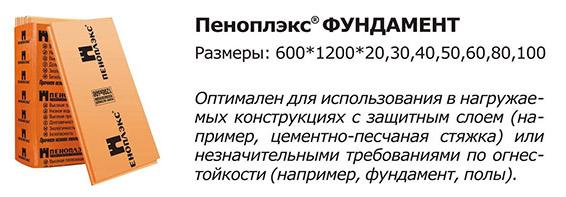 Плиты марки Penoplex