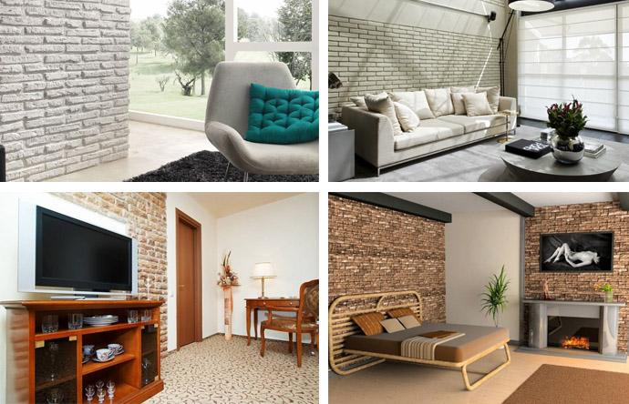 Примеры отделки комнат