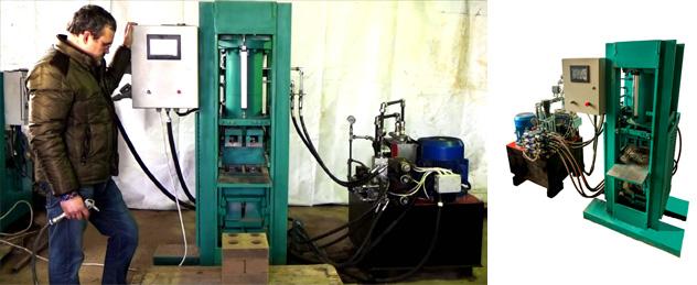 Станок для производства кирпича