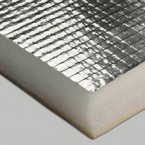 Теплоизоляция с фольгированным слоем