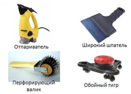 Виды инструментов