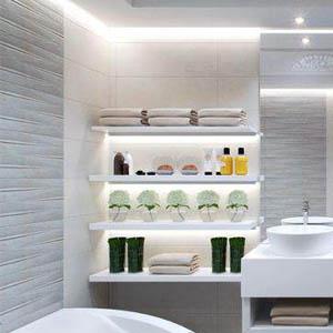 Как сделать гипсокартонную полку в ванной комнате