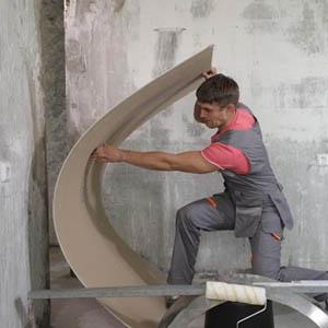 Как согнуть гипсокартонные листы для арки своими руками