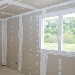 Обшивка стен гипсокартонными листами
