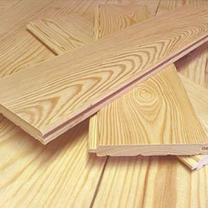 Вагонка из древесины лиственницы