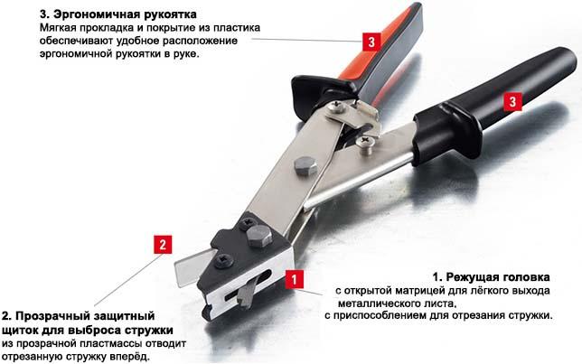 Высечные ножницы