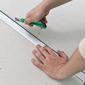 Как и чем разрезать гипсокартон