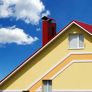 Как найти минимальный угол наклона скатов металлочерепичной крыши