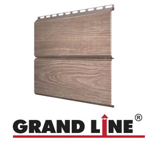 Металлосайдинг ЭкоБрус марки Grand Line