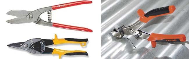 Ножницы для металлических листов