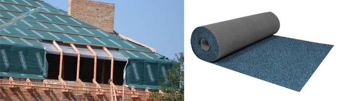 Подстилающее покрытие для крыши