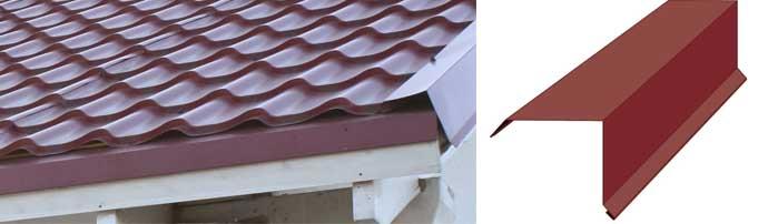 Что такое торцевые панели для крыши