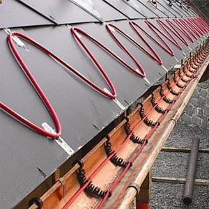 Антиобледенительные системы для обогрева водостоков и крыши