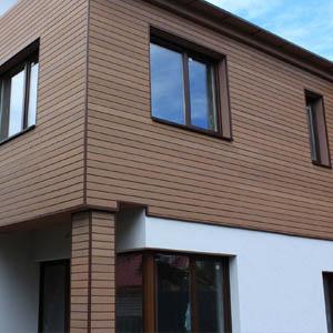 Виды материалов для отделки фасада дома, критерии выбора и фото