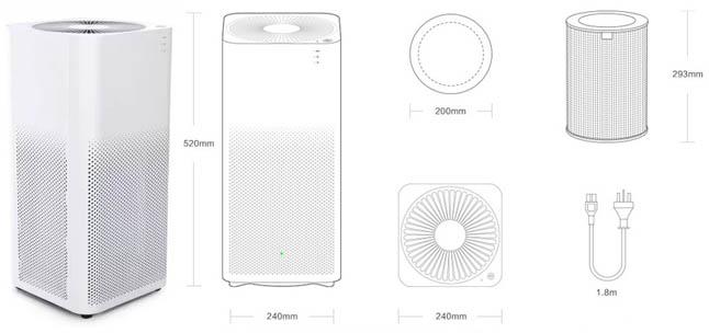 Влагоочиститель Xiaomi Air Purifier