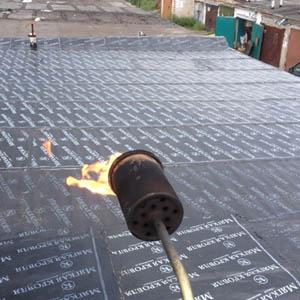 Гидроизоляционные работы на крыше гаража