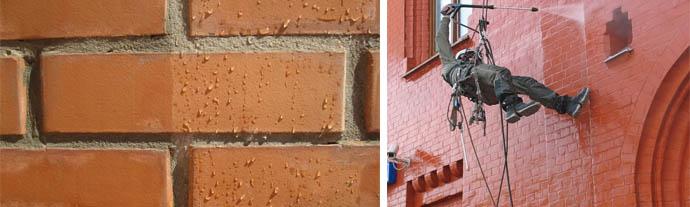 Защита фасада от влаги - это гидрофобизация