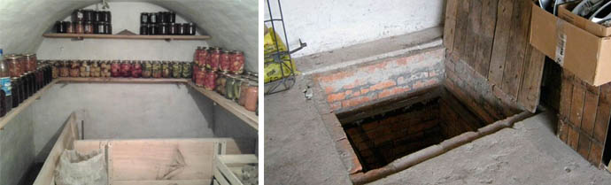 Излишняя влага в подполье и погребах