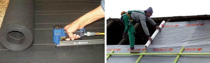 Какой использовать материал для защиты крыши от воды